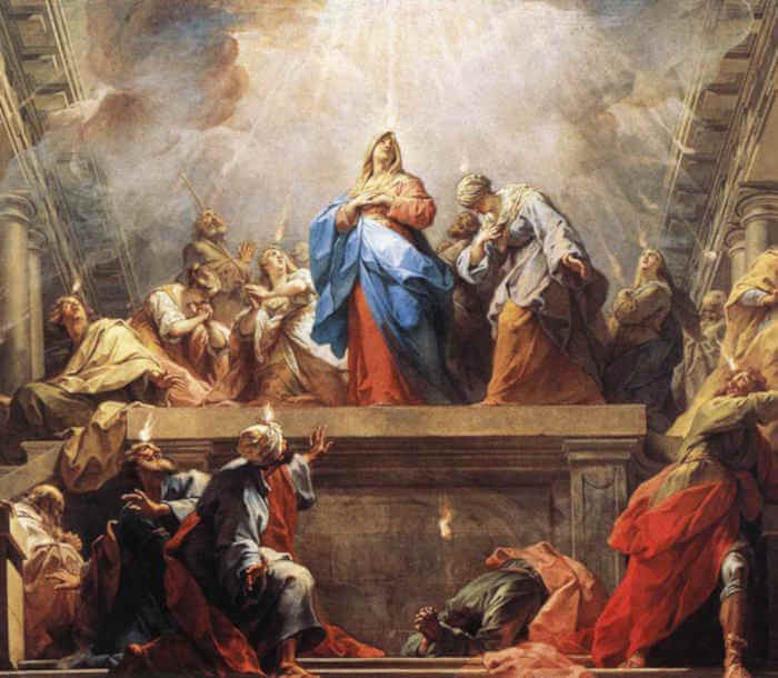 The Coming of the Holy Spirit - Catholic Daily Reflections
